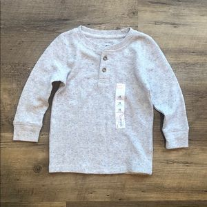 Jumping Beans texture thermal henley